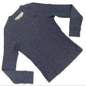 ABERCROMBIE & FITCH Crew Neck Long Sleeve Shirt